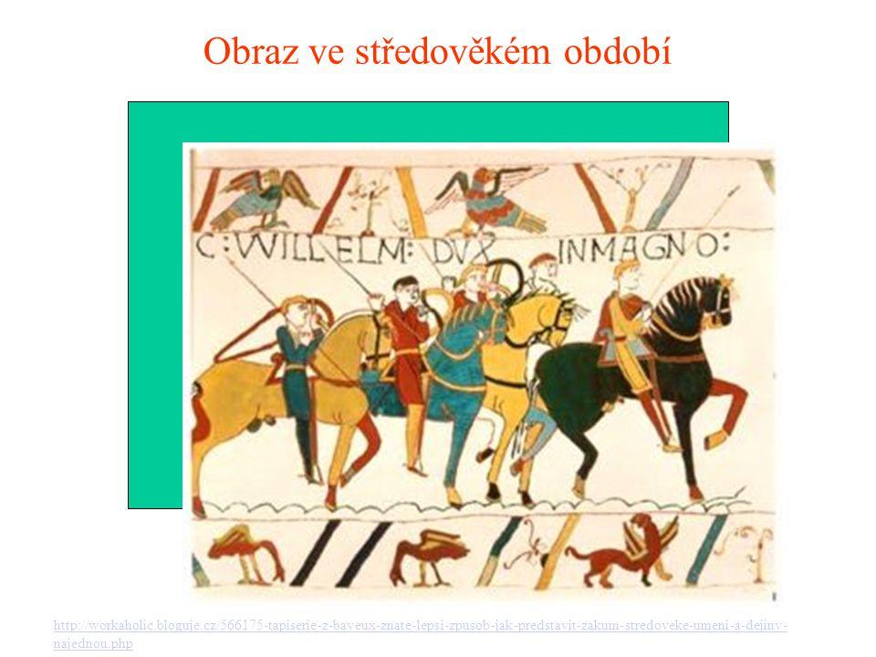 Obraz ve středověkém období