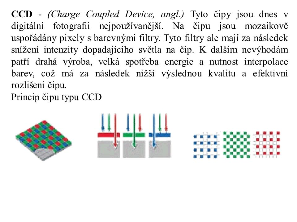 CCD - (Charge Coupled Device, angl