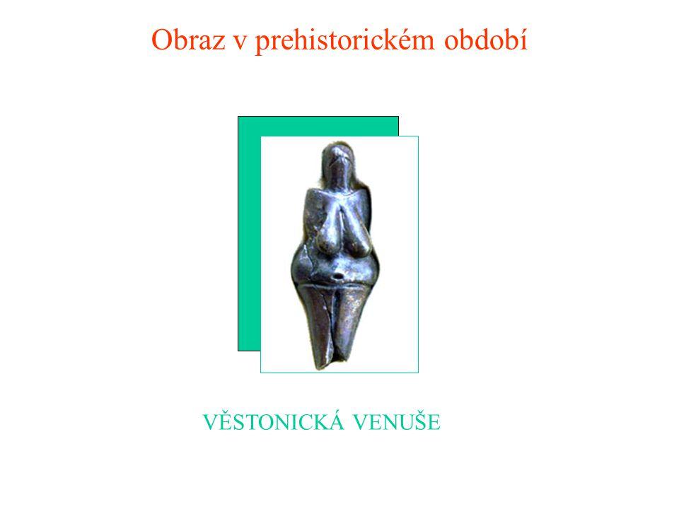 Obraz v prehistorickém období