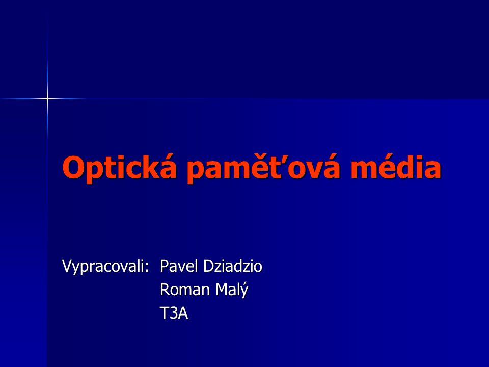 Optická paměťová média
