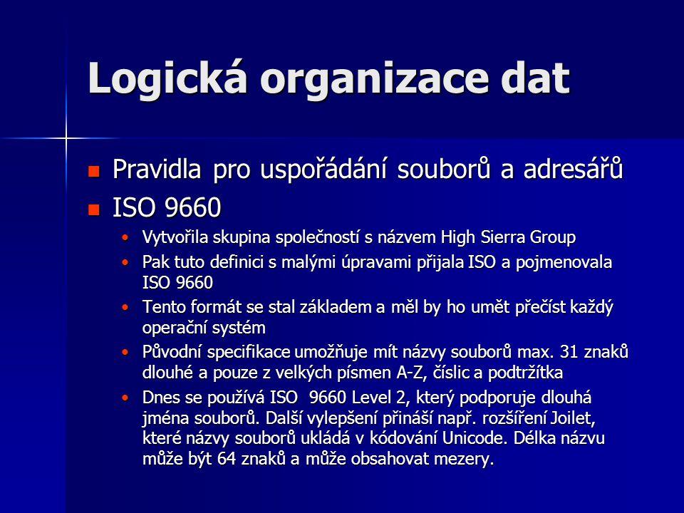 Logická organizace dat