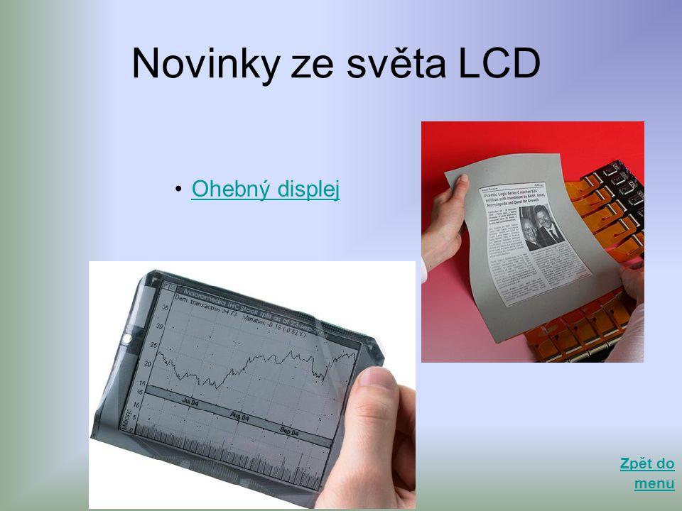 Novinky ze světa LCD Ohebný displej Zpět do menu