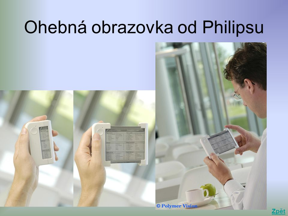 Ohebná obrazovka od Philipsu