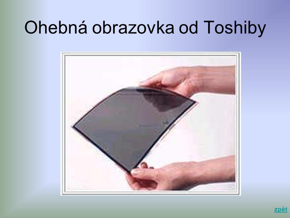 Ohebná obrazovka od Toshiby