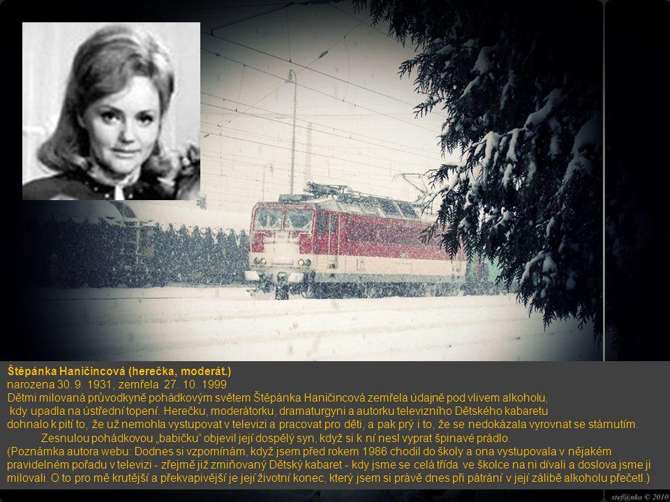 Štěpánka Haničincová (herečka, moderát. ) narozena 30. 9