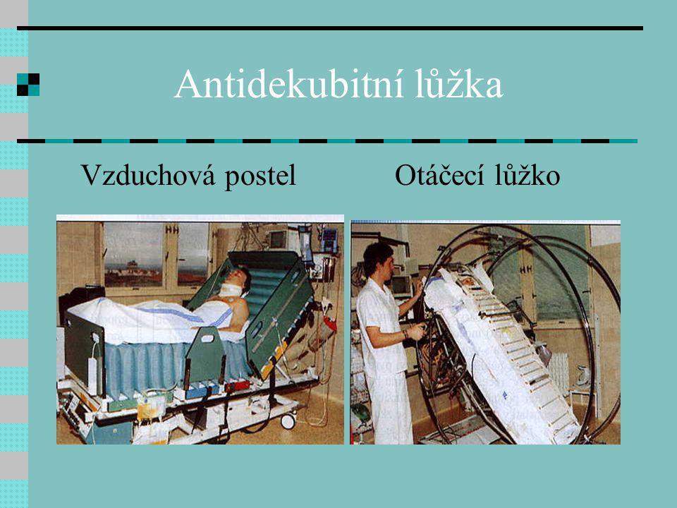 Antidekubitní lůžka Vzduchová postel Otáčecí lůžko