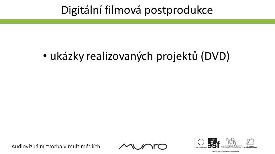 Digitální filmová postprodukce