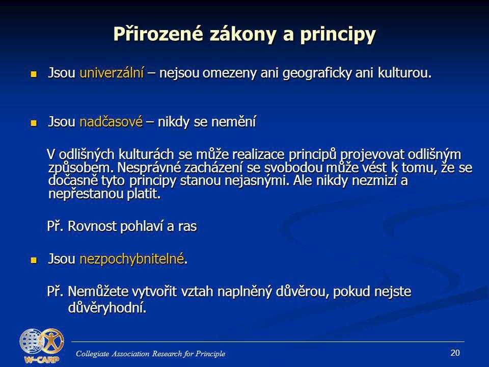 Přirozené zákony a principy