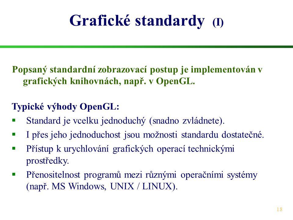 Grafické standardy (I)