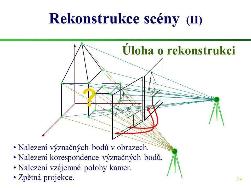 Rekonstrukce scény (II)