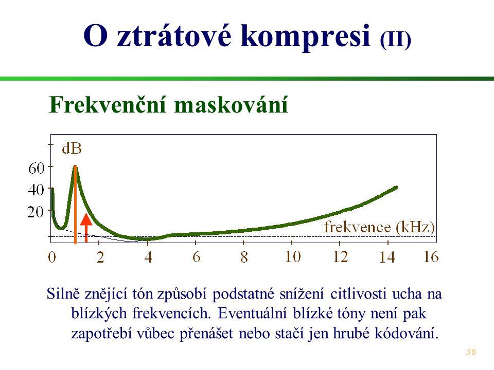 O ztrátové kompresi (II)