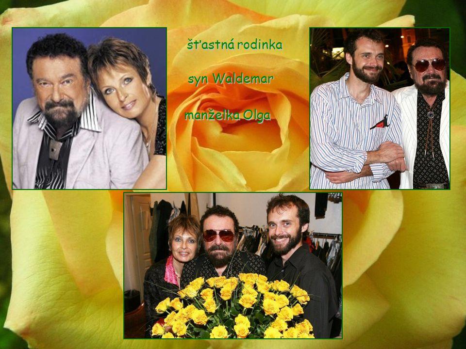 šťastná rodinka syn Waldemar manželka Olga