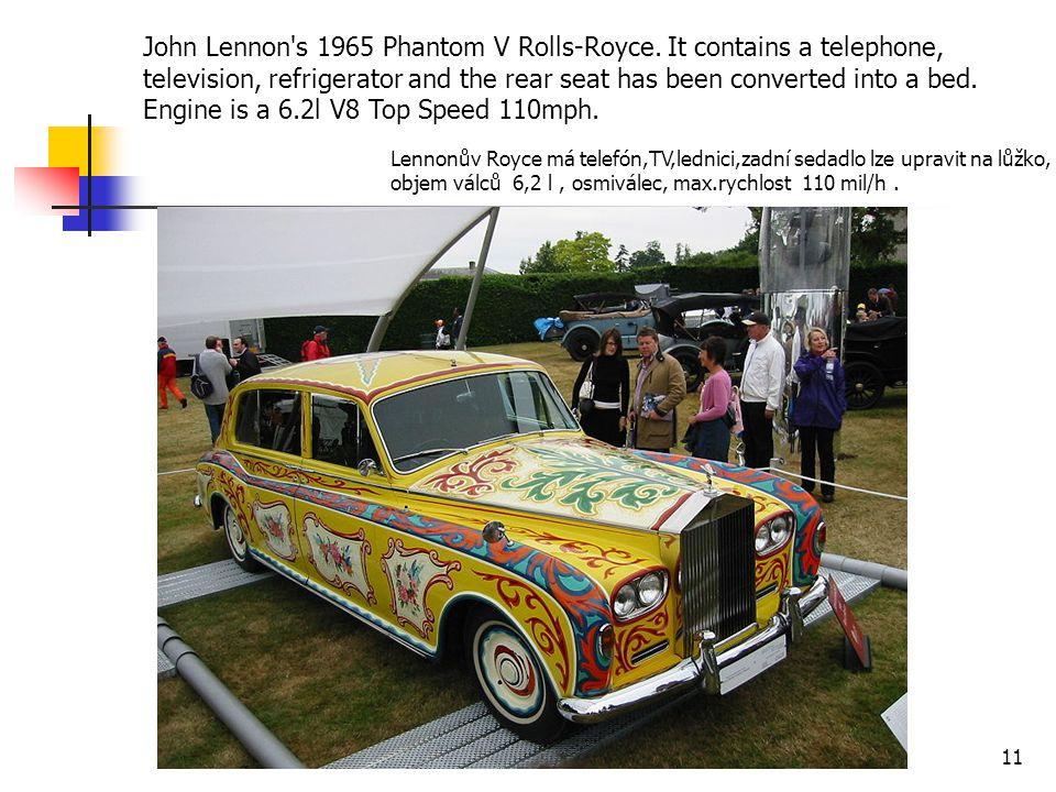John Lennon s 1965 Phantom V Rolls-Royce