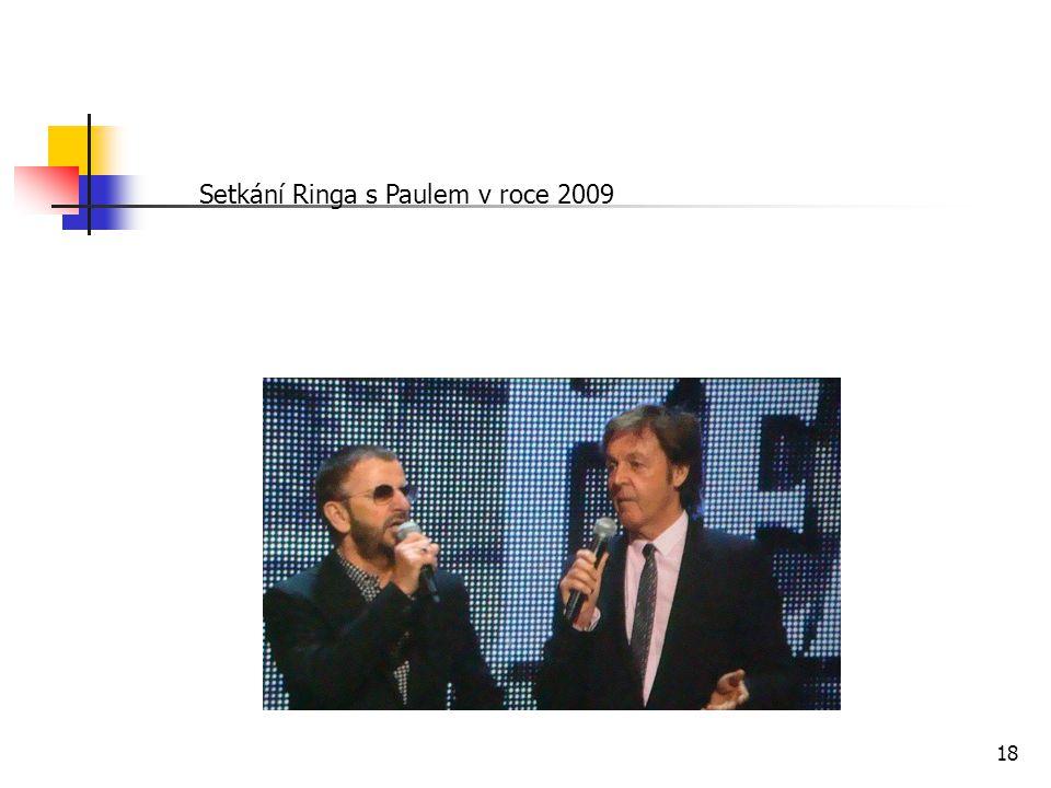 Setkání Ringa s Paulem v roce 2009