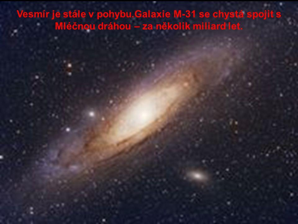 Vesmír je stále v pohybu
