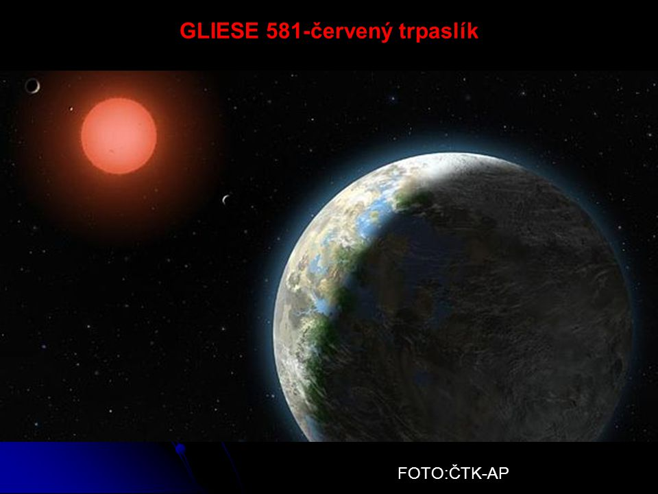 GLIESE 581-červený trpaslík