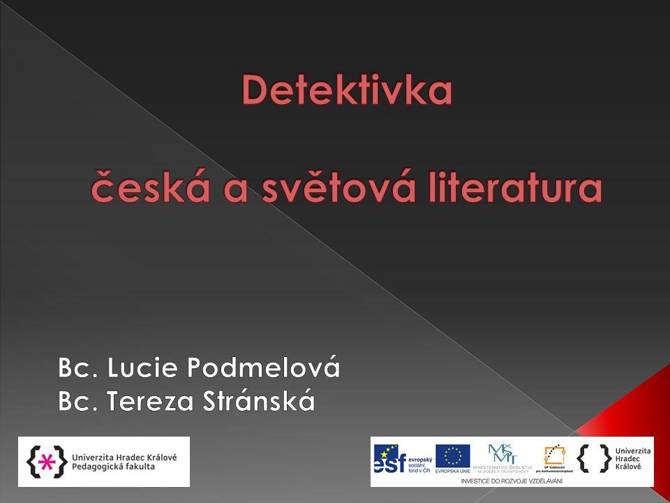 Detektivka česká a světová literatura