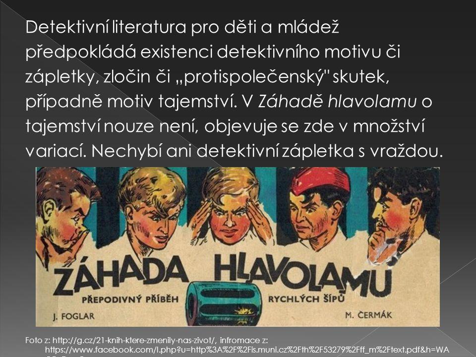 Detektivní literatura pro děti a mládež