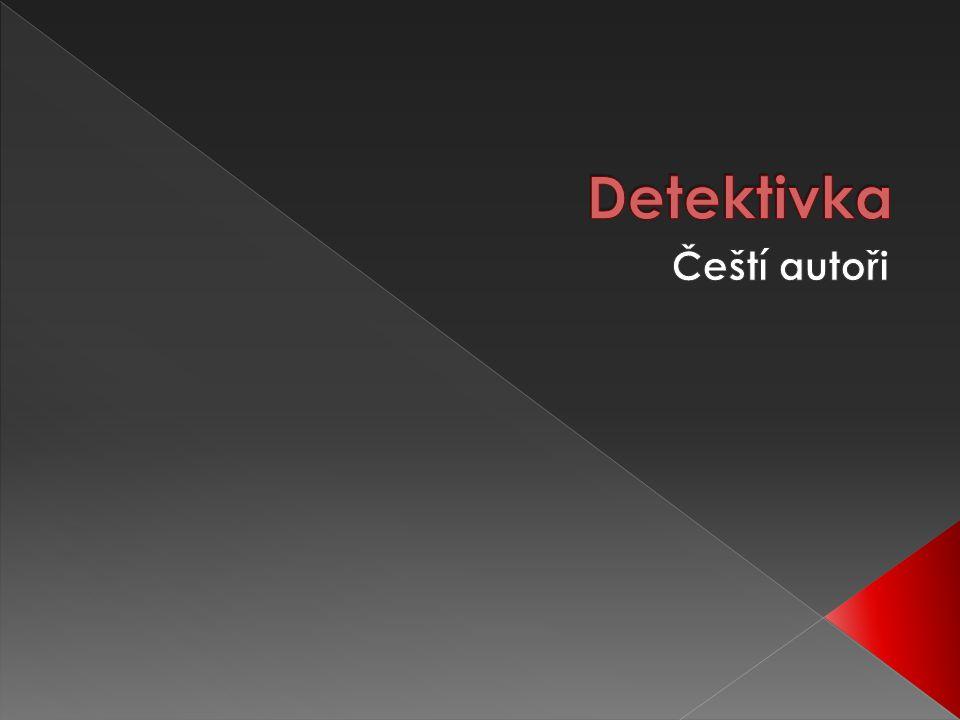 Detektivka Čeští autoři