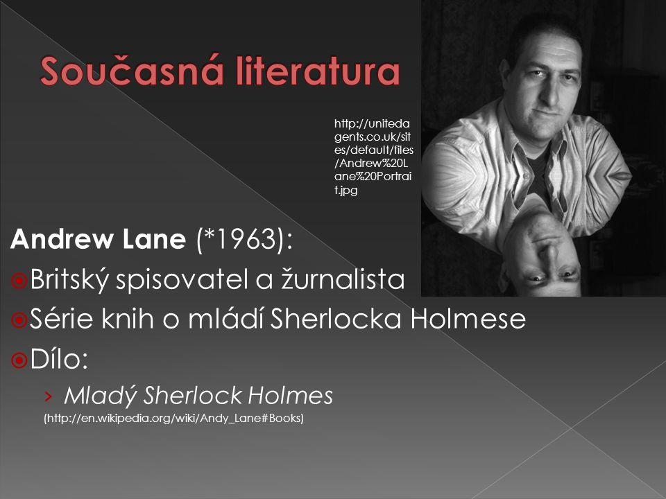 Současná literatura Andrew Lane (*1963):