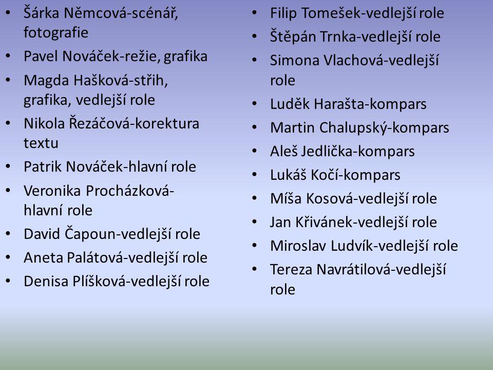 Šárka Němcová-scénář, fotografie