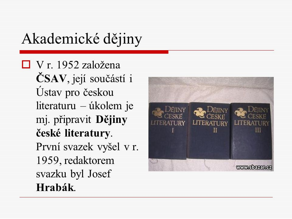 Akademické dějiny