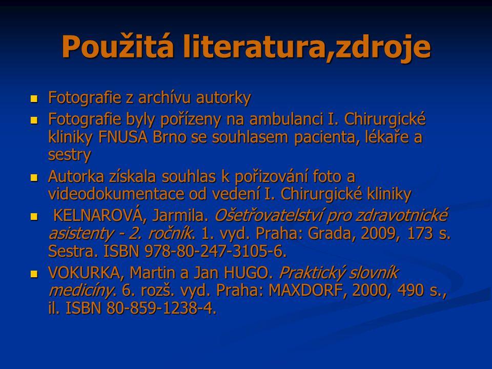 Použitá literatura,zdroje