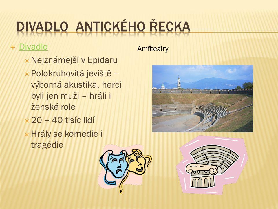 Divadlo antického Řecka