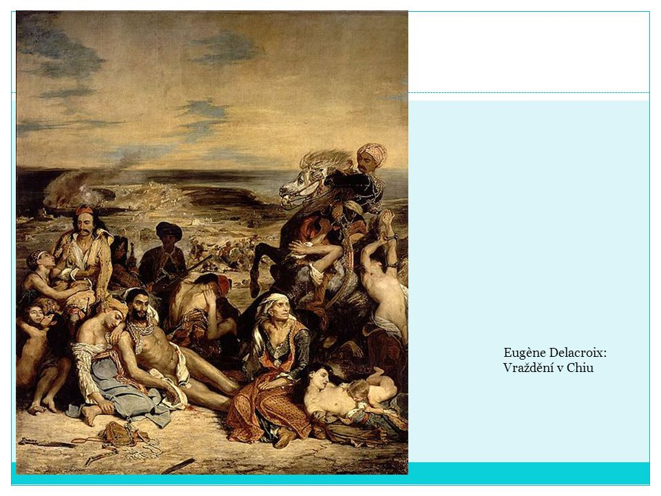 Eugène Delacroix: Vraždění v Chiu