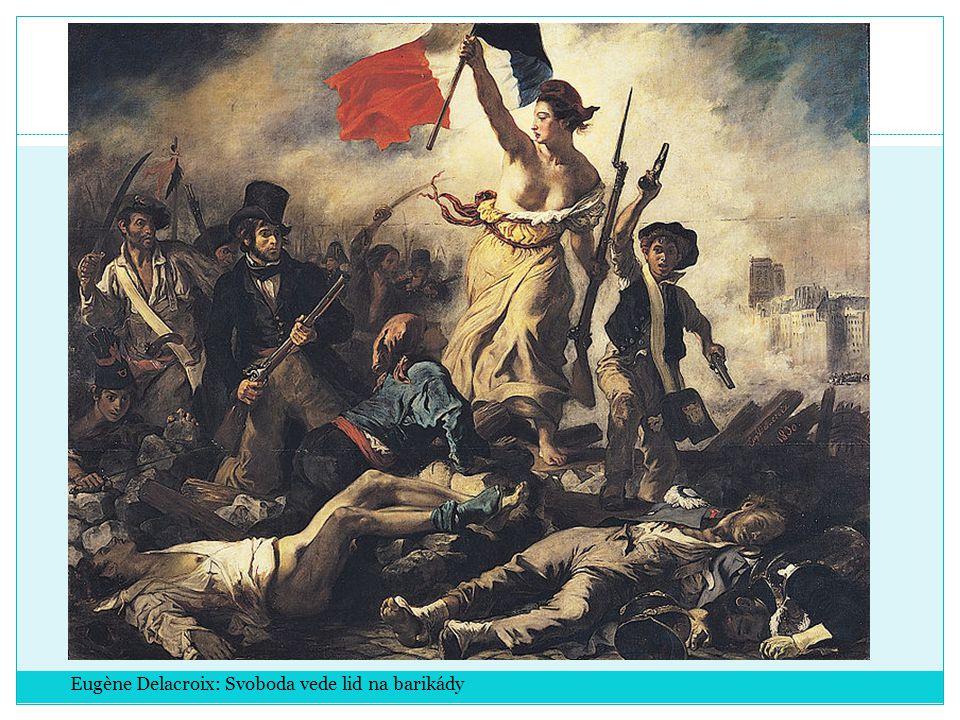 Eugène Delacroix: Svoboda vede lid na barikády