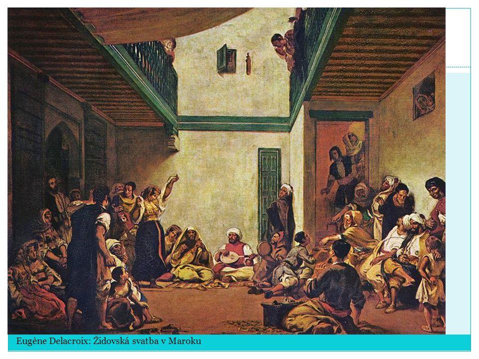 Eugène Delacroix: Židovská svatba v Maroku