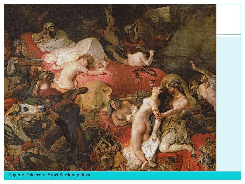 Eugène Delacroix: Smrt Sardanapalova