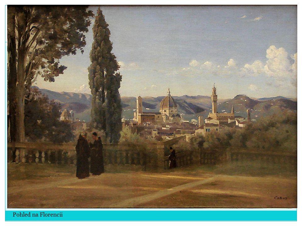 Pohled na Florencii