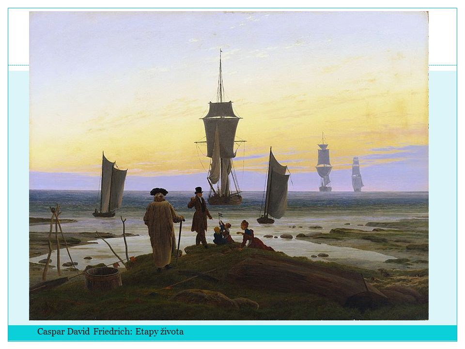 Caspar David Friedrich: Etapy života