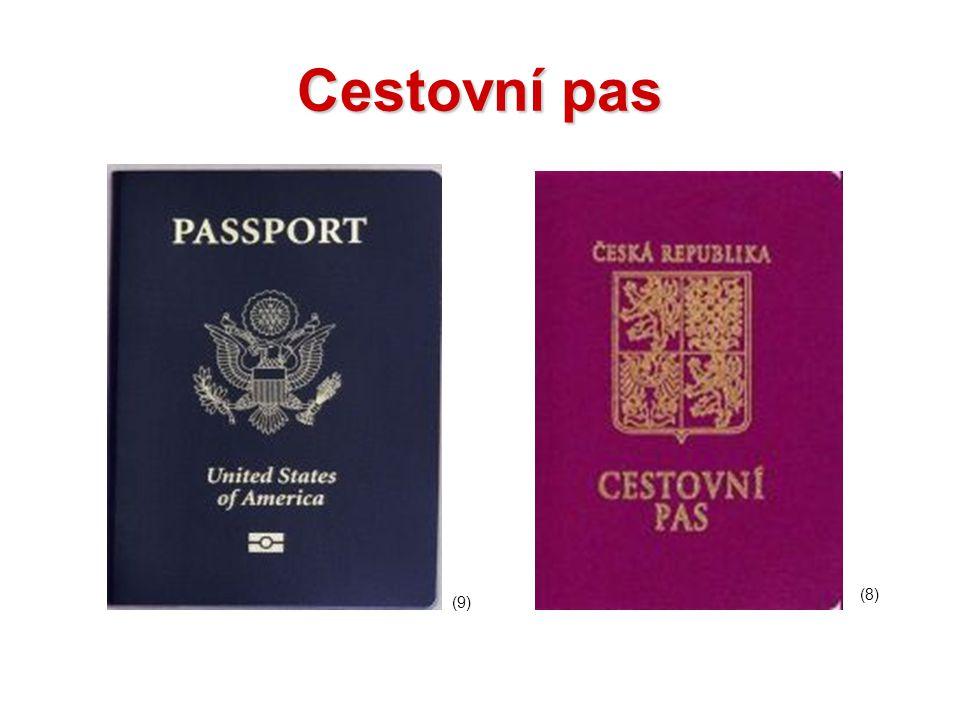 Cestovní pas (8) (9)