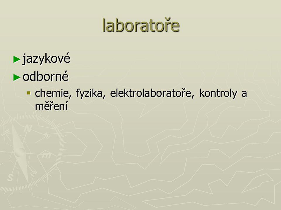 laboratoře jazykové odborné