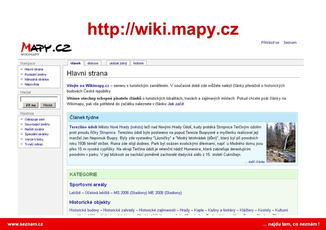 http://wiki.mapy.cz