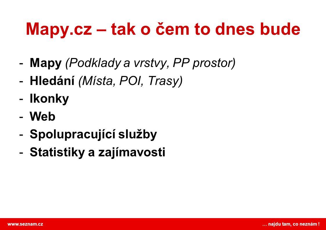 Mapy.cz – tak o čem to dnes bude