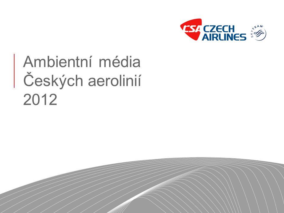 Ambientní média Českých aerolinií