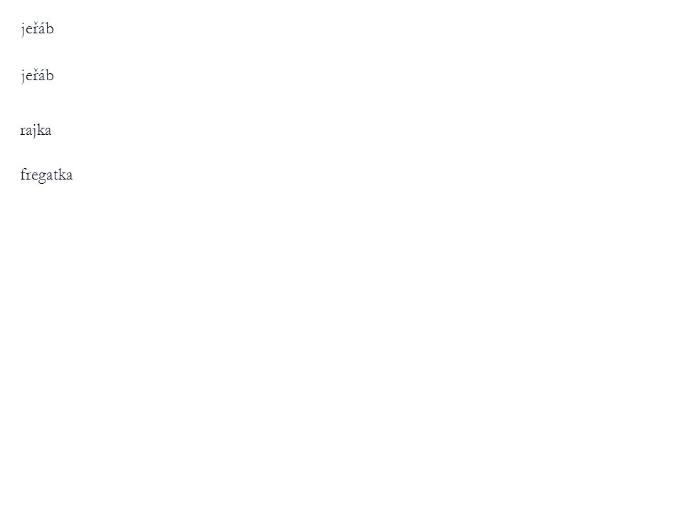 jeřáb jeřáb rajka fregatka