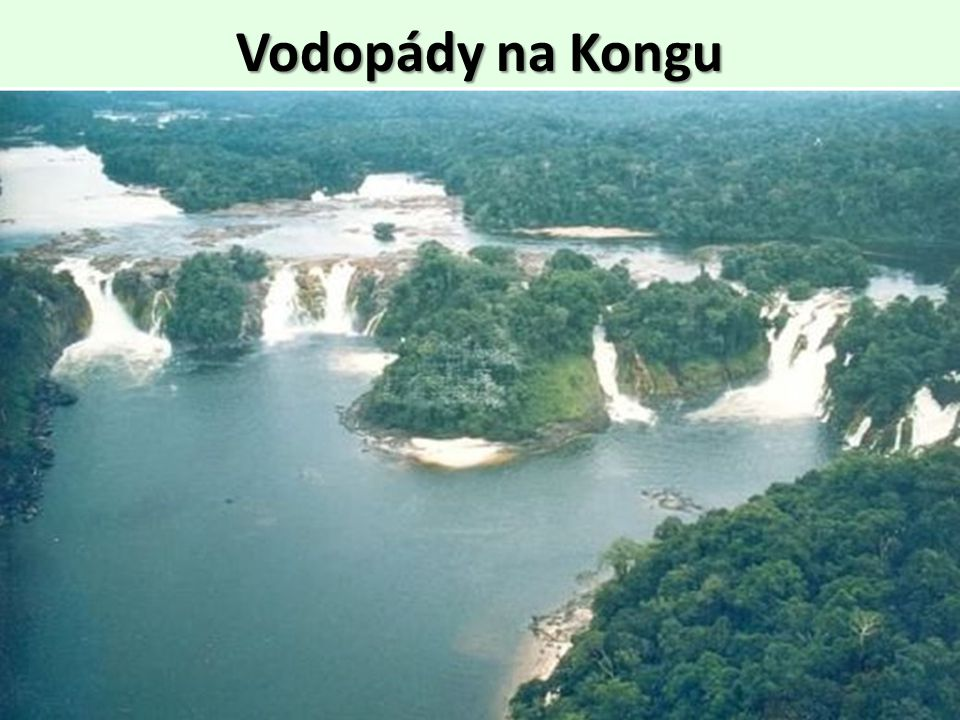 Vodopády na Kongu