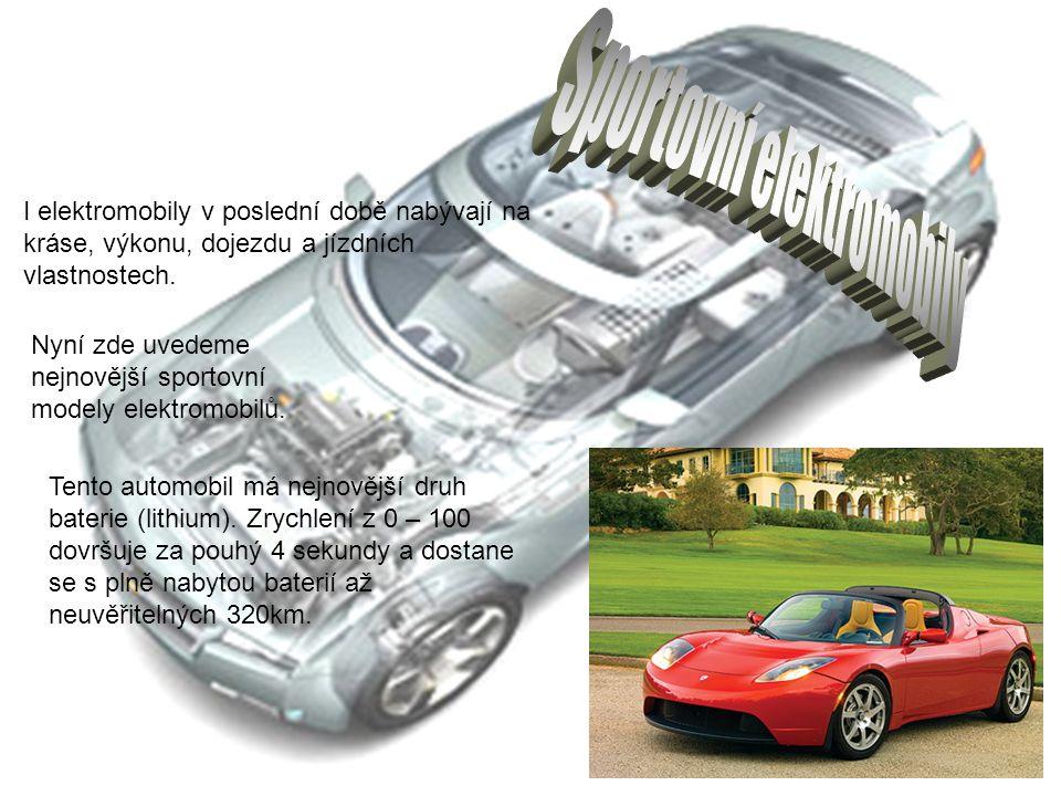 Sportovní elektromobily