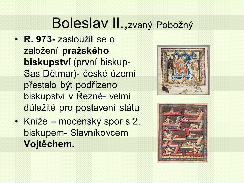 Boleslav II.,zvaný Pobožný