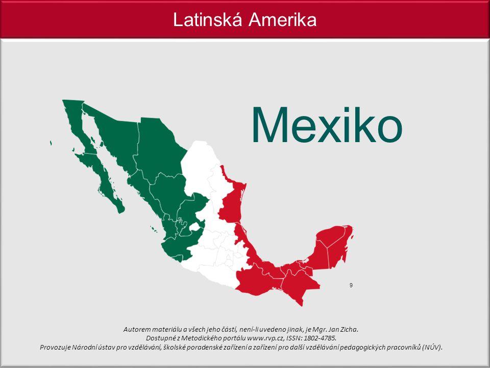Mexiko Latinská Amerika