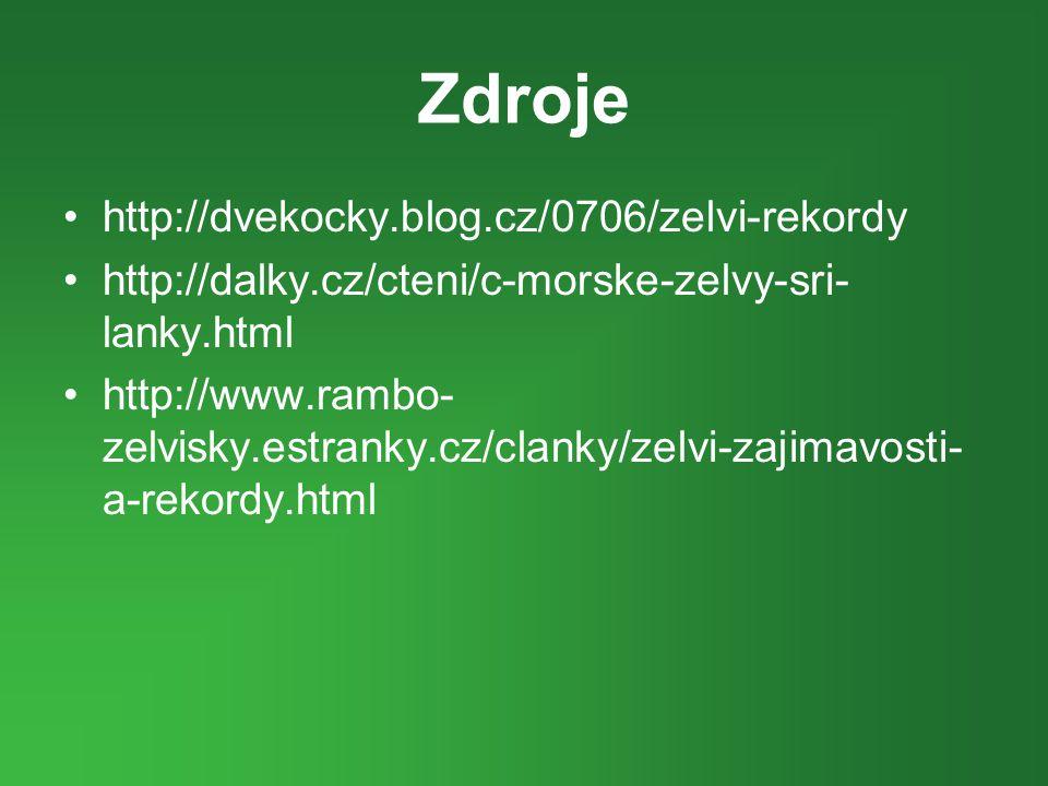 Zdroje http://dvekocky.blog.cz/0706/zelvi-rekordy
