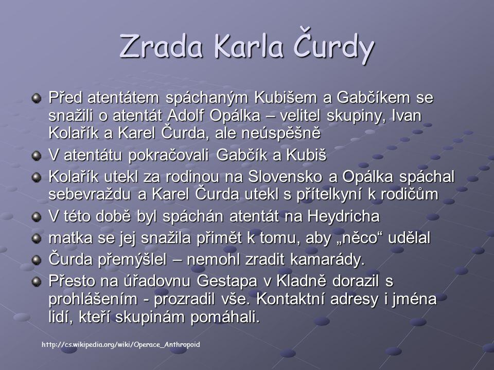Zrada Karla Čurdy