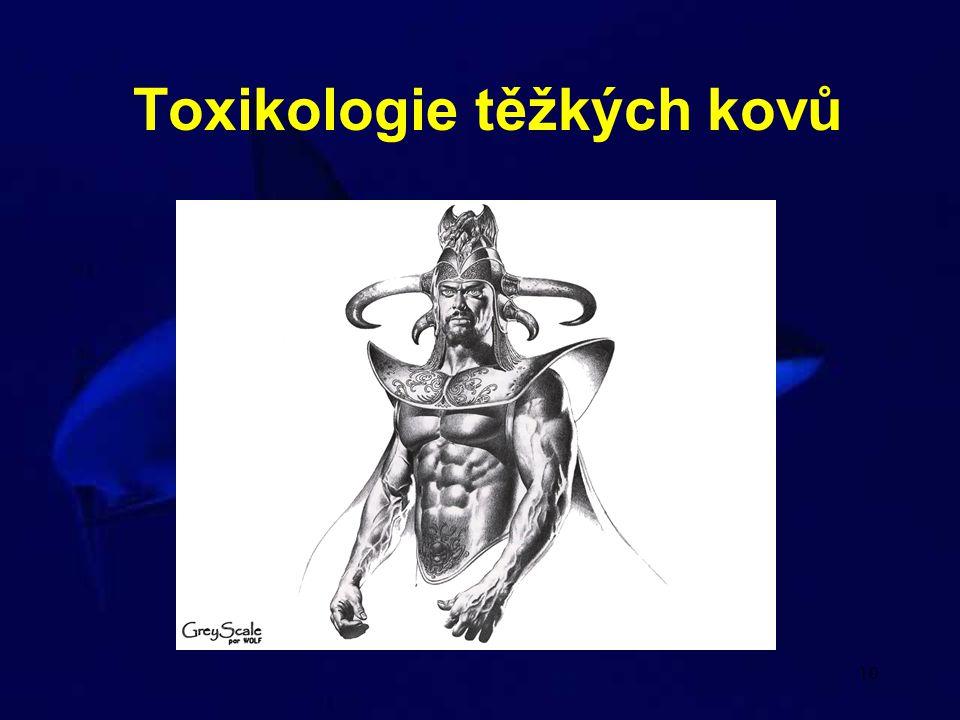Toxikologie těžkých kovů
