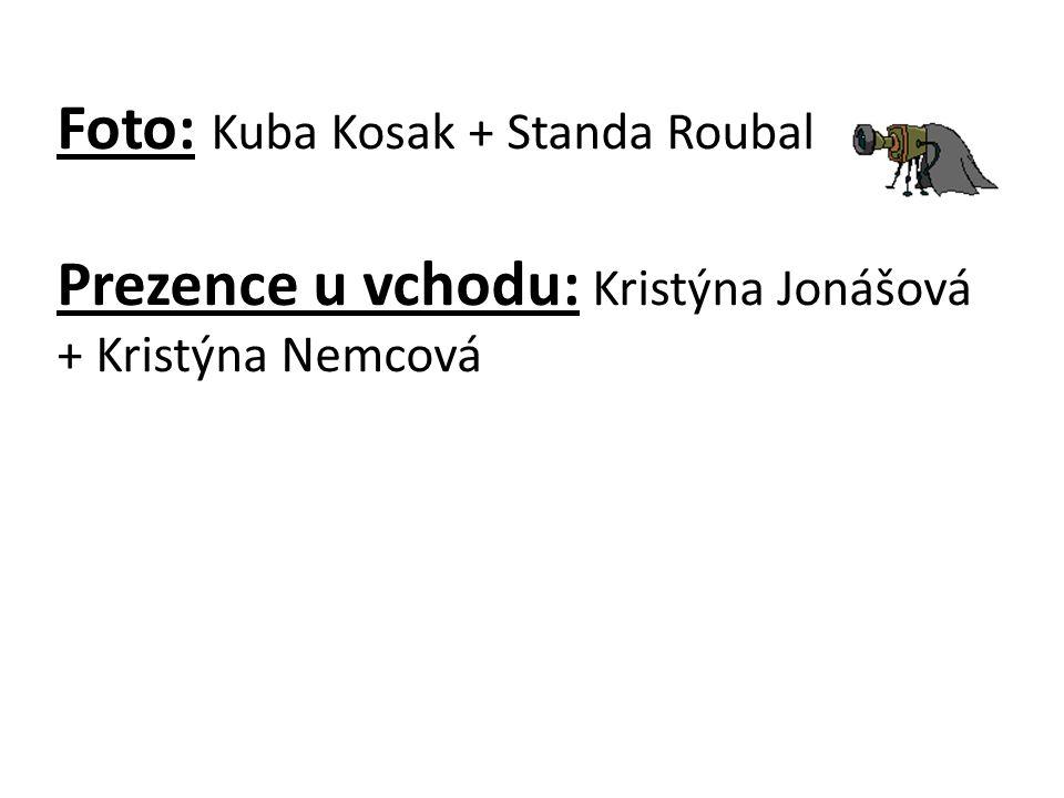 Foto: Kuba Kosak + Standa Roubal Prezence u vchodu: Kristýna Jonášová + Kristýna Nemcová