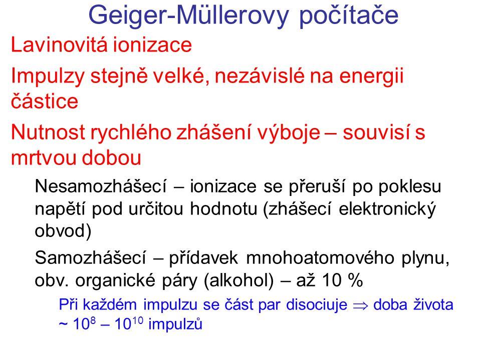 Geiger-Müllerovy počítače