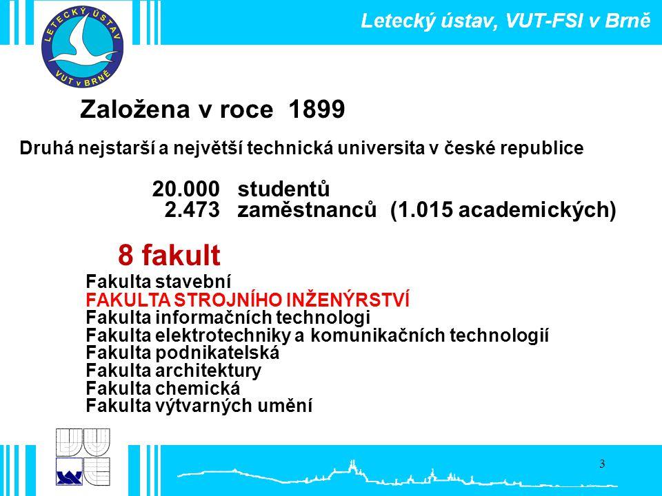 8 fakult Založena v roce 1899 20.000 studentů